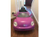 VW Beetle Ride On Car