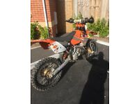 Ktm exc 125 registered as a 125 road legal