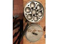 Vintage Egg Poacher (7 Eggs)