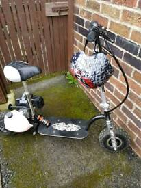 Petrol scooter swap ps4