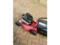 Petrol lawnmower s wants running or not