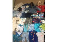Baby boy newborn/up to 3 months bundle