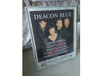 Deacon Blues Signed Poster