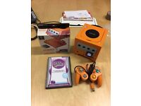 Spice Orange Gamecube Console with Gameboy Player £80.00