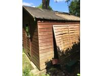 Garden shed. Free