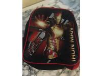 Iron man school backpack