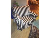 Variety of IKEA Ektorp sofa and armchair covers