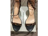 Brand New Calfhair ladies heels, size 8