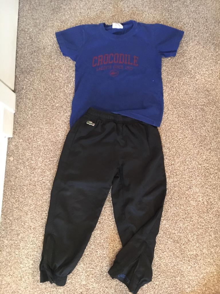 reputable site 0e1fc 4513b Boys Clothes Lacoste Scotland Strip Real Madrid | in Colinton ...