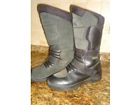 Motor cycle Boots size 7