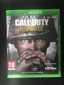 Call of Duty WW2 WWII Xbox One
