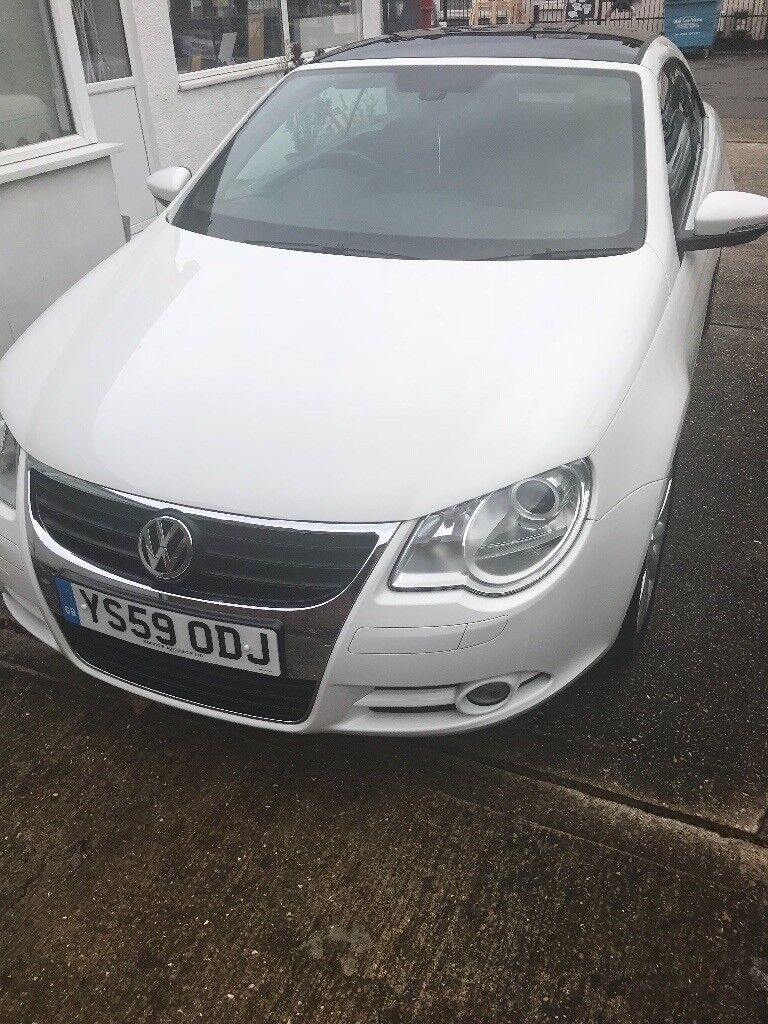 Volkswagen Eos 1.4 TSI Convertable great car low mileage no faults at all