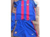 Fc Barcelona football kit 7-8 years