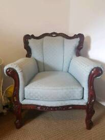Antique style armchair / occassional chair