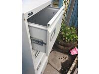 4 Drawer filing cabinet x2