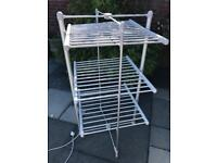 Easylife three tier electric heated clothes airer, towel dryer