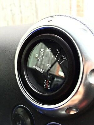 Audi TT 52mm Boost Gauge Vent Adaptors