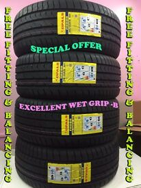 """SPECIAL OFFER ""245/45ZR19 98 Y OPALS 4 TYRE'S INCLUDING FITTING BALANCING ONLY £200"