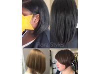 Afro/European Hairdresser London Hairstylist - Hair care, natural/relaxed, weave, extensions