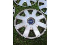 Ford wheel trims x 4 - 16 inch