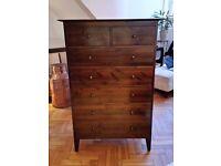 Warren Evans chest of drawers x 2, bedside tables --SE1