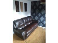 Brown sofa for sale at a bargain