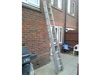 double alu ladders £45