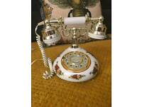 Royal albert vintage telephone