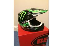 Bell MX 9 Monster Energy Motocross Quad Motorbike Helmet