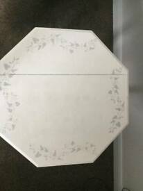 Side table - hand finished stencilling