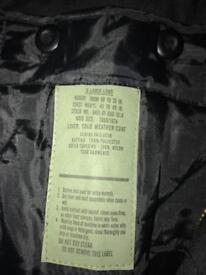 Men's military design winter jacket