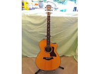 Taylor 814ce electro-acoustic guitar. 2014 model.
