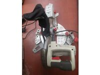 Bargain Used Only Once Performance Power 210mm Slide Compound Mitre Saw.