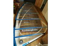 Tushingham 7.5m windsurf sail