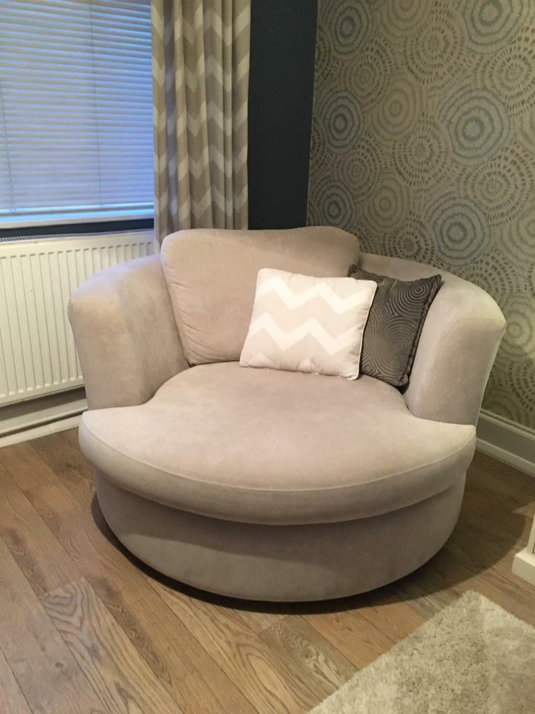 Dfs Cream Freya Swivel Chair Can Deliver Local In