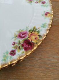 Royal Stafford Bouquet Dinner Plates