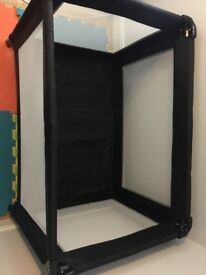 Redkite Travel Cot (Black and New)