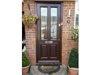External Door With Frame