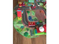 Happy land toys bundle and storage box