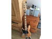 Squier by Fender Vintage Modified 70s Jazz Bass, Left-Handed, Natural