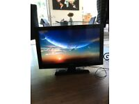 "Toshiba 32"" High Definition LCD TV with built-in DVD player"
