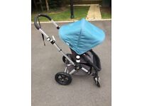 Complete set of Bugaboo Cameleon 3 in Blue and Red