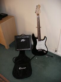 CRAFTER CRUISER GUITAR AND PEAVEY AMPLIFIER