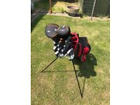Wilson Pro Staff Golf Clubs 3-SW, Driver Set, Putter and Chipper Includes Carry Bag