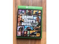 grand theft auto 5 (gta5) & map 🗺 , as new , xbox one ! price stands , no offers !