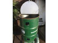 45 gallon drums / burning bins/ compost bins