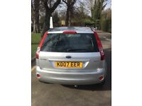 Automatic Ford Fiesta (Ghia) 2007 with low mileage