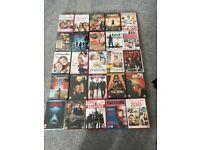Mixture of 25 DVDs