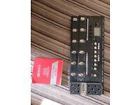 Line 6 Pod X3 Live amp simulator/effects pedal board
