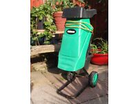 Powerbase Garden Shredder/Mulcher - 2400w - Good Working Order.
